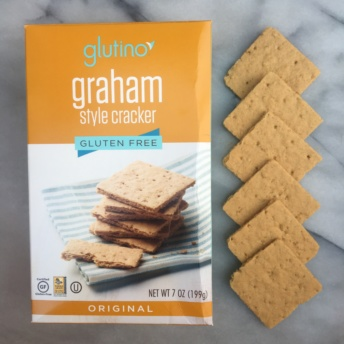 Gluten-free graham style crackers by Glutino