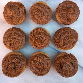Gluten-free Double Maple Cupcakes