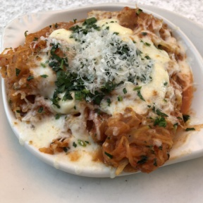 Spaghetti squash casserole from True Food Kitchen