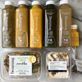 Dairy-free cleanse from Beaming