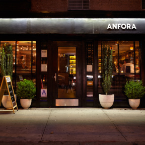 Anfora a wine bar in NYC