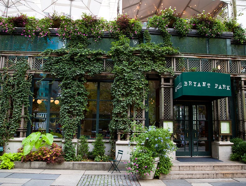 Best Cafe Near Bryant Park