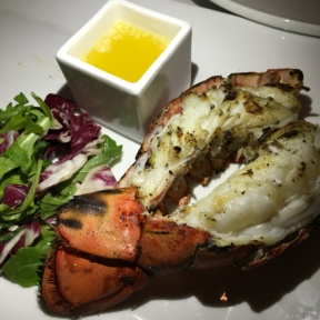 Lobster tail with butter from Davios