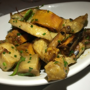 Gluten free root veggies from Davios