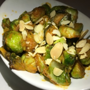 Brussels sprouts with almonds from Davios