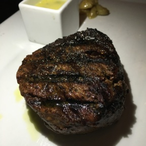 Gluten free steak from Davios