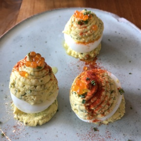 Deviled eggs from Yardbird