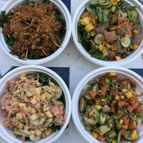 Gluten-free poke from Sweetfin