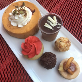 Gluten-free pumpkin cheesecake and more from Sinners and Saints