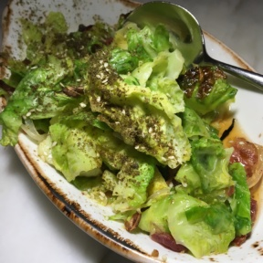 Gluten free brussels sprouts from FIG
