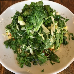 Gluten-free kale salad from Mexicue