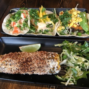 Gluten-free corn and tacos from Mexicue