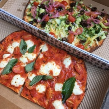 Gluten-free pizza from &pizza