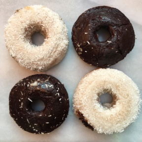 Gluten-free donuts from Wheat's End Cafe