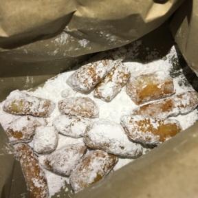 Gluten-free zeppoli from South End