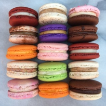 Assorted gluten-free macarons from Dana's Bakery
