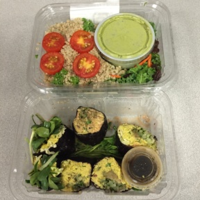 Gluten free and vegan dishes from Juice Press