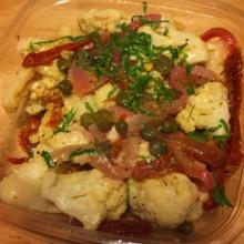Gluten-free cauliflower from Juice Shop