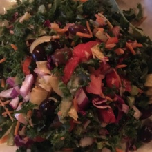Kale salad from Little Pub