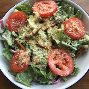 Vegan Caesar salad from P.S. & Co