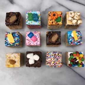 Rice krispy treats from Treat House in NYC