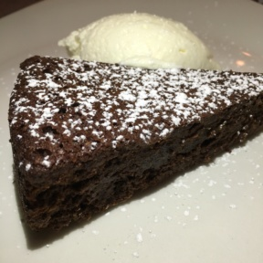 Flourless chocolate cake from RossoPomodoro