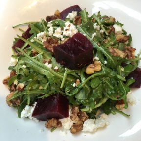 Gluten-free beet salad from Smorgas Chef