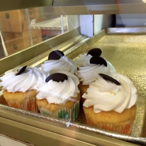 Gluten-free cupcakes from St. Moritz Pastry Shop