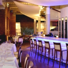 Thalassa a Greek restaurant in Tribeca NYC