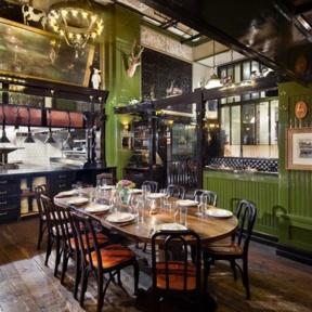 The Breslin restaurant in NYC