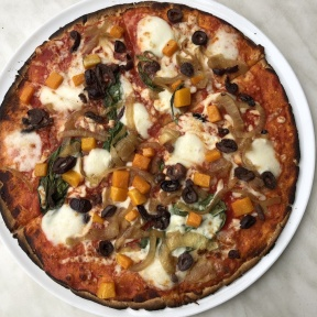 Gluten-free pizza from 800 Degrees Pizza