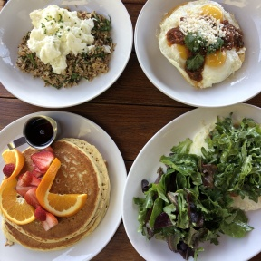 Gluten-free brunch from Coral Tree Cafe