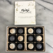 Gluten-free chocolate cake truffles by Mini Melanie