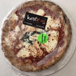 Gluten-free pizza by Keste in NYC