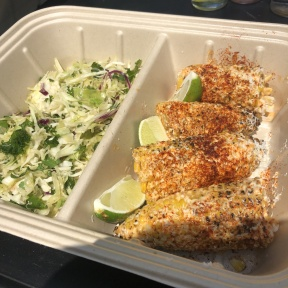 Gluten-free Mexican street corn from Mexicue