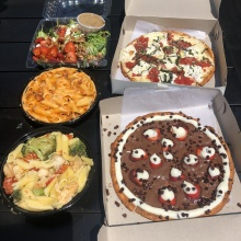 Gluten-free pizza and pasta from Planet Pizza