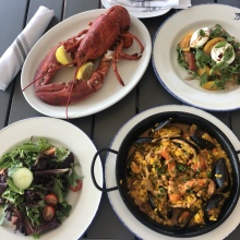 Gluten-free lunch from Rowayton Seafood