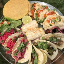 Gluten-free tacos from Bartaco