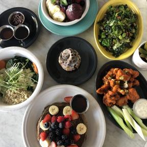 Gluten-free brunch from Cafe Gratitude