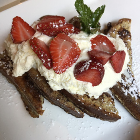 Gluten-free French toast from Risotteria Melotti