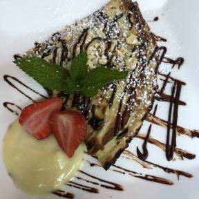 Gluten-free Nutella crepe from Risotteria Melotti