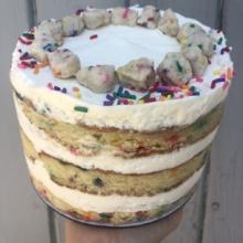 Gluten-free birthday cake by Milk Bar