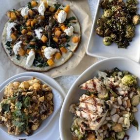 Gluten-free lunch from True Food Kitchen in Denver