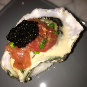 Caviar from Upholstery Store: Food & Wine