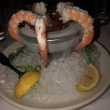 Gluten-free shrimp cocktail from Morton's