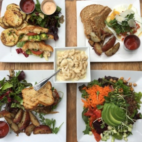 Gluten free lunch spread from Venice Ale House