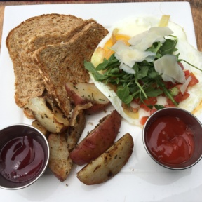 Gluten-free egg dish from Venice Ale House