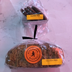 Gluten-free bread and cookies from Pitchoun Bakery