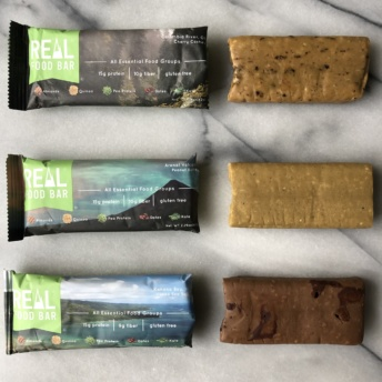 Gluten-free dairy-free bars by Real Food Bar