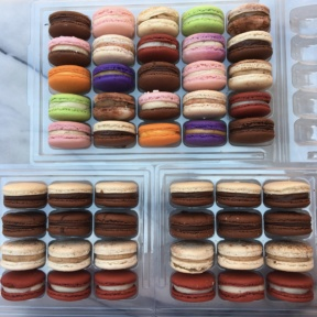 Dozens of gluten-free macarons from Dana's Bakery